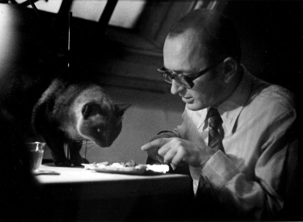 1975 KV s kočkou Benny Goodmanem