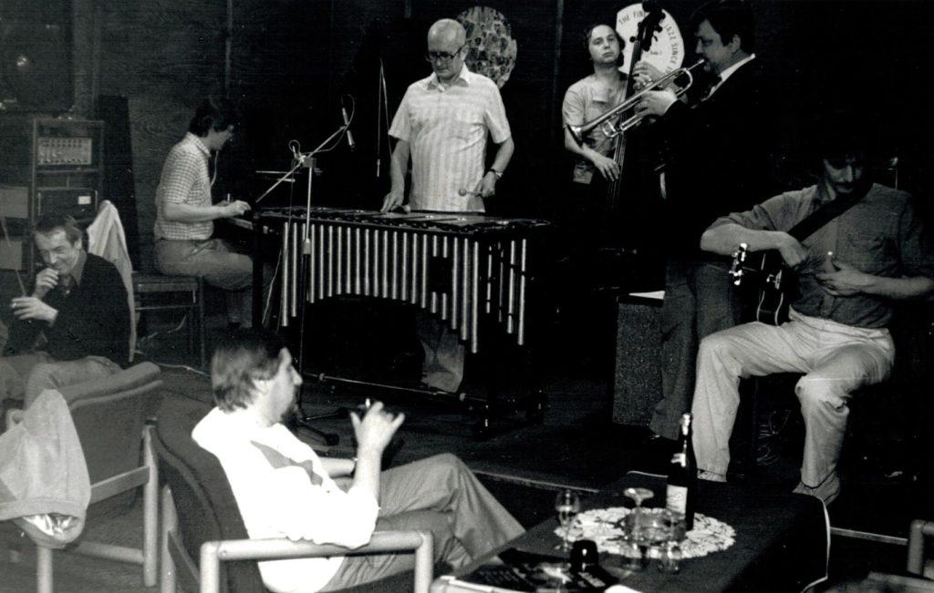Emil Viklický, Karel Velebný, František Uhlíř, Pavel Husička & Tony Viktora