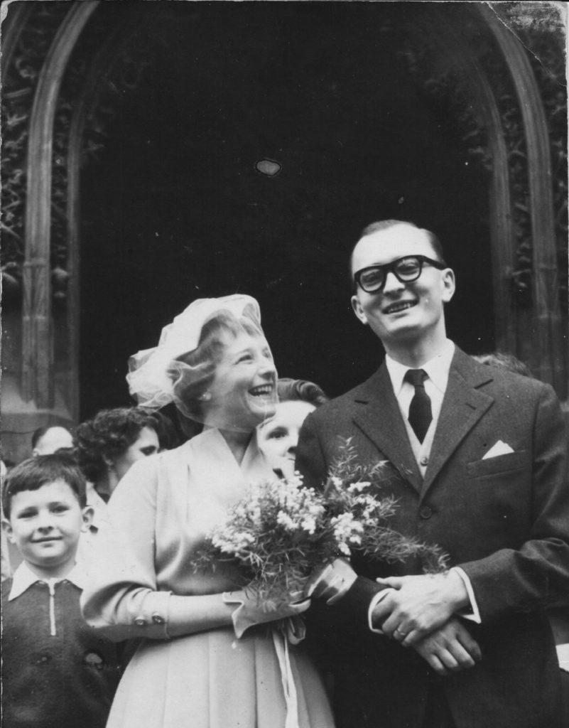 K. Velebný se žení 1958