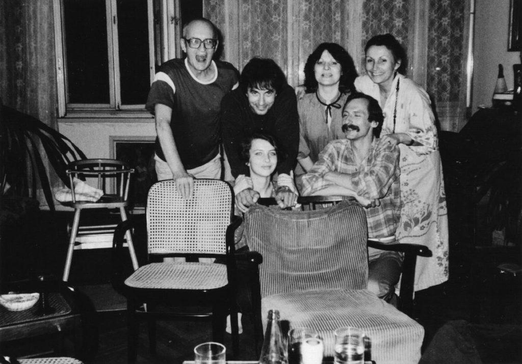 Karel Velebný, Milan Vitoch, Eva Svobodová, Jan Kalfus a Zuzana Velebná