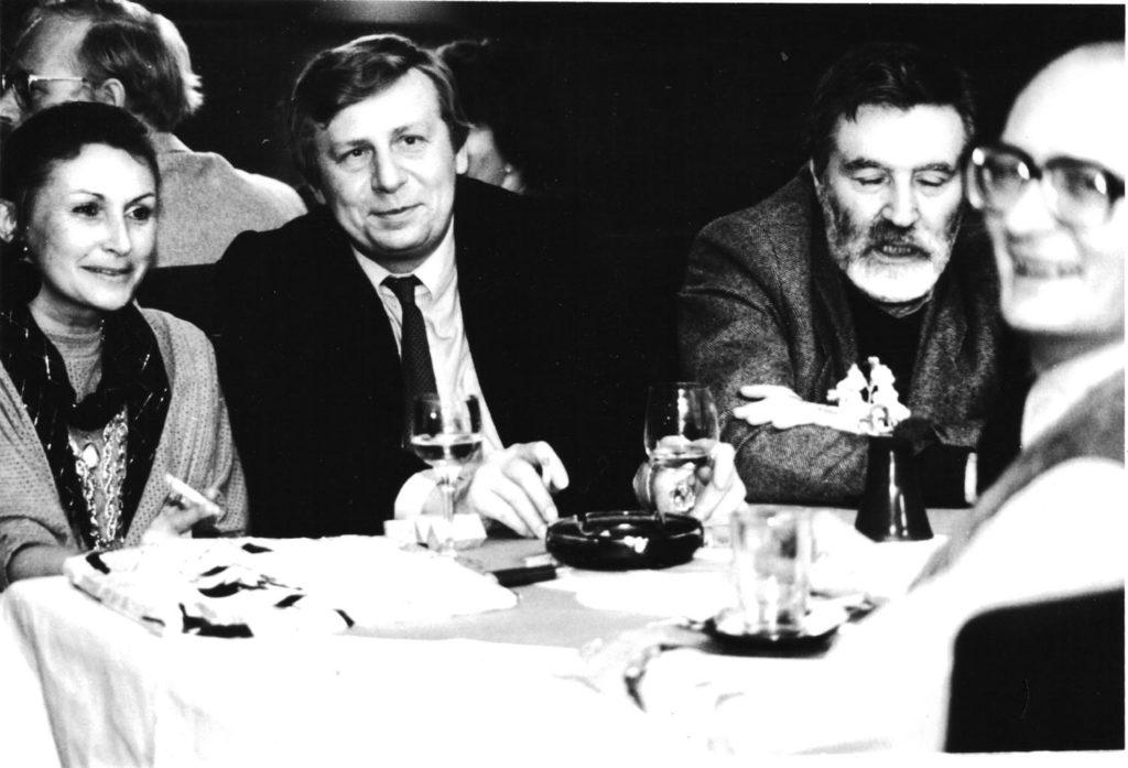 Zuzana Velebná, Antonín Matzner, Rudolf Dašek & Karel Velebný ve Vagonu