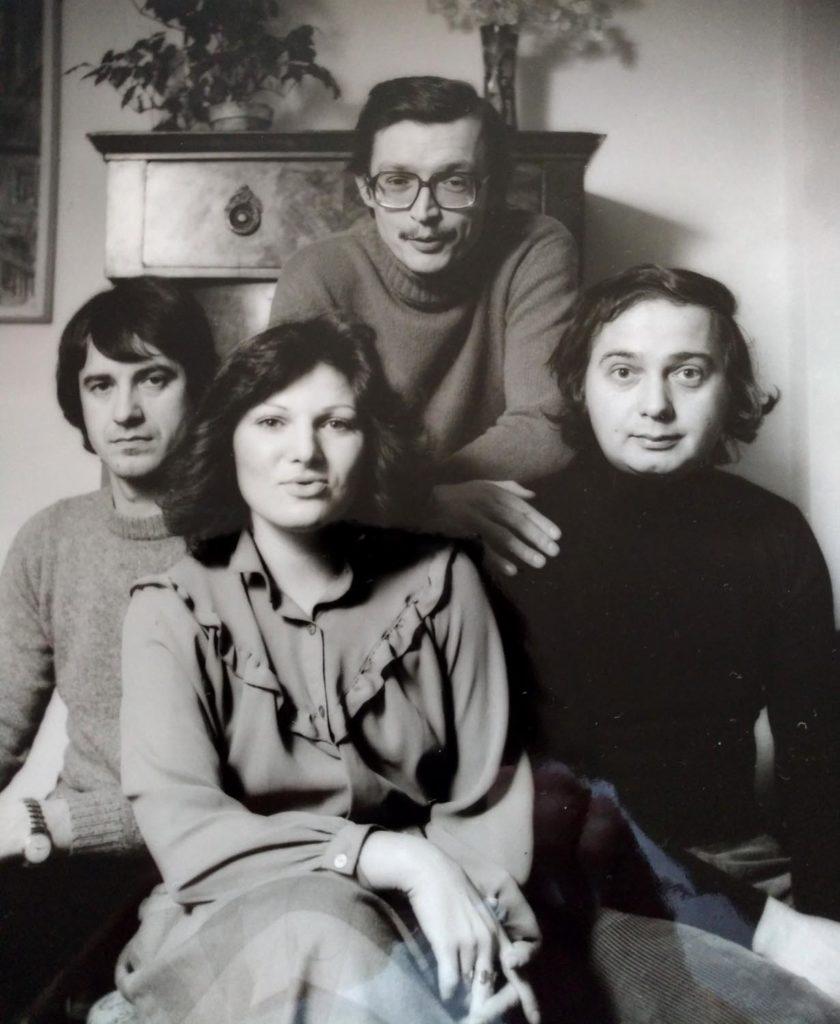 Milan Vitoch, Eva Svobodová, Emil Viklický & František Uhlíř