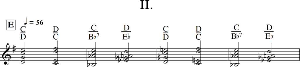 Obrázek 4: Introdukce na vibrafon, II. věta