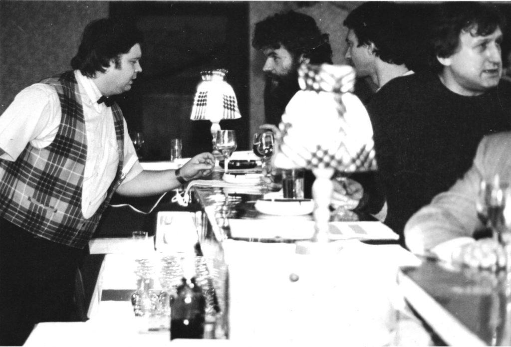 """P. Rybář, L. Holzer, M. Vitoch & J. """"Bažík"""" Pavelka"""
